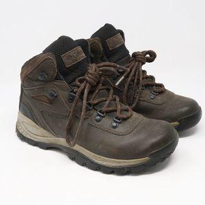 Columbia Newton Ridge Brown Leather Hiking Boots